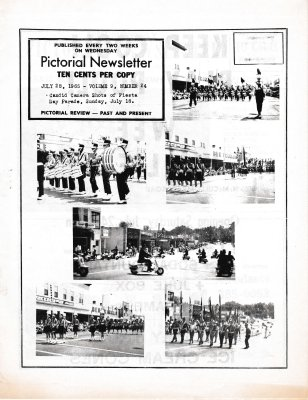 The Pictorial Newsletter: July 28, 1965