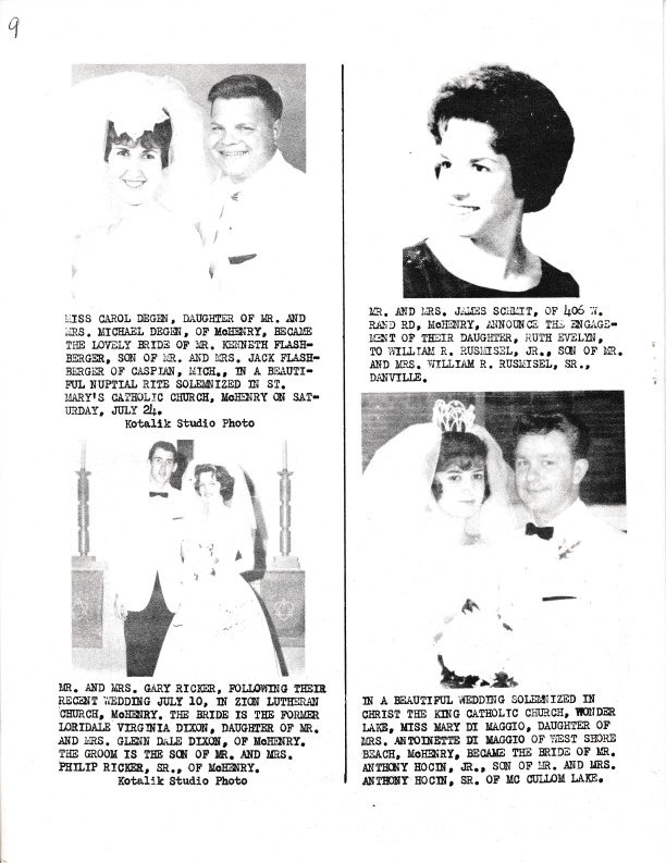 The Pictorial Newsletter: August 11, 1965