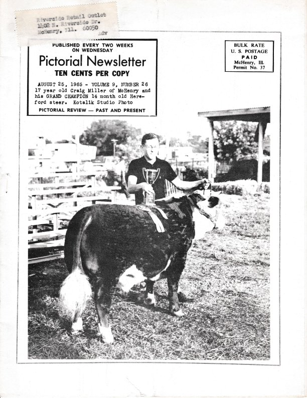 The Pictorial Newsletter: August 25, 1965