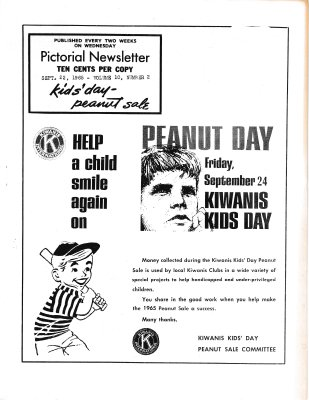 The Pictorial Newsletter: September 22, 1965