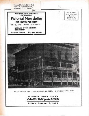 The Pictorial Newsletter: October 6, 1965