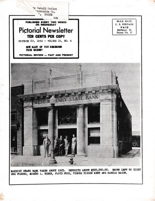 The Pictorial Newsletter: October 20, 1965