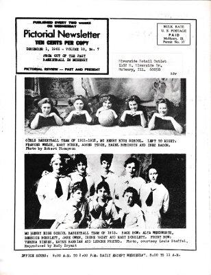 The Pictorial Newsletter: December 1, 1965