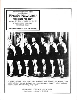 The Pictorial Newsletter: January 12, 1966
