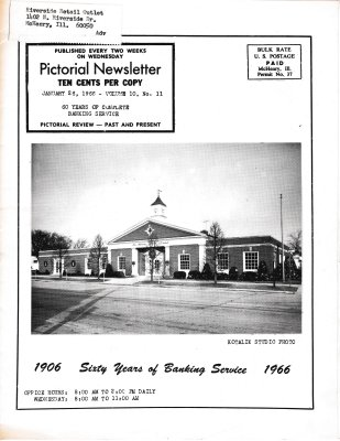 The Pictorial Newsletter: January 26, 1966