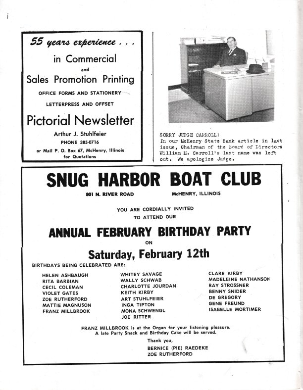 The Pictorial Newsletter: February 9, 1966