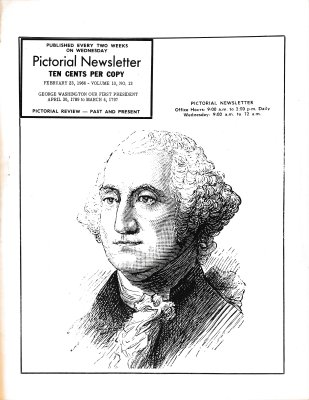 The Pictorial Newsletter: February 23, 1966