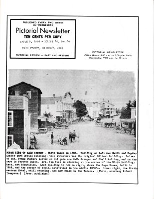 The Pictorial Newsletter: March 9, 1966