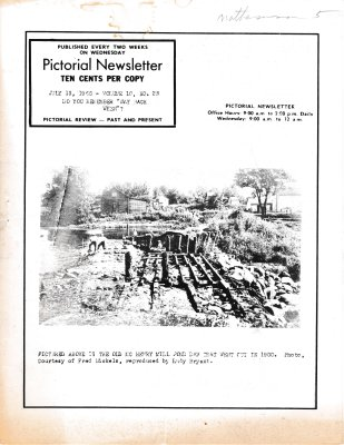 The Pictorial Newsletter: July 13, 1966