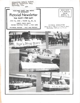 The Pictorial Newsletter: July 27, 1966