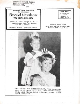The Pictorial Newsletter: August 10, 1966