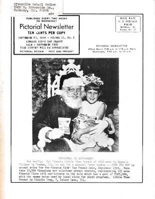The Pictorial Newsletter: September 21, 1966