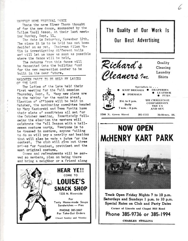 The Pictorial Newsletter: September 21, 1966