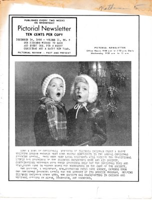 The Pictorial Newsletter: December 14, 1966