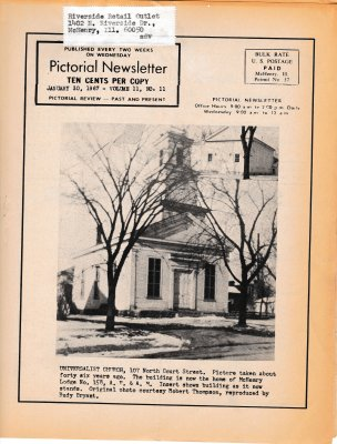 The Pictorial Newsletter: January 30, 1967