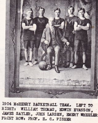 1904 McHenry Basketball Team