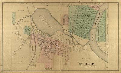 1892 McHenry County Atlas