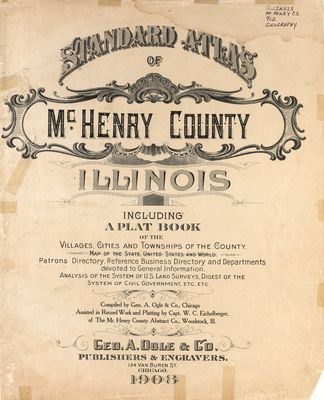 1908 McHenry County Atlas