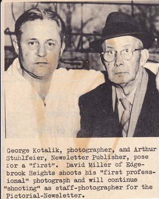 George Kotalik and Arthur Stuhlfeier