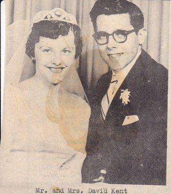 Wedding Photograph: Mr & Mrs David Kent