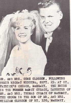 Wedding Photograph: Mr & Mrs Gene Glosson