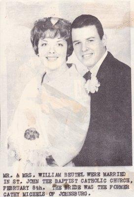 Wedding Photograph: Mr & Mrs William Beutel