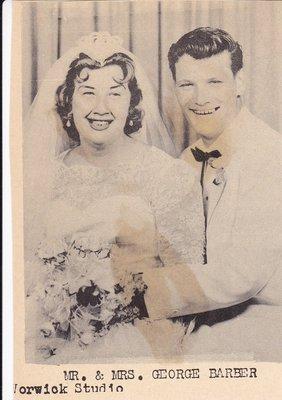 Wedding Photograph: Mr & Mrs George Barber