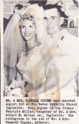 Wedding Photograph: Mr & Mrs Randall Hughes