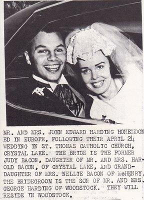Wedding: Mr & Mrs John Edward Harding