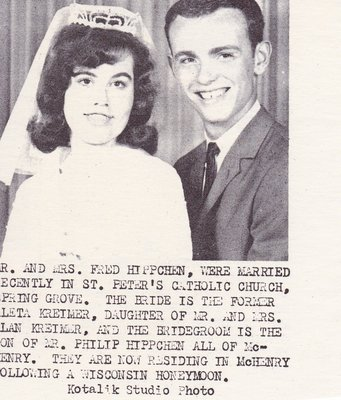 Wedding: Mr & Mrs Fred Hippchen