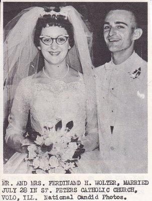 Wedding: Mr & Mrs Ferdinand Wolter