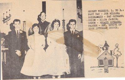 Wedding: Mr & Mrs Roland Reymann and Wedding Party