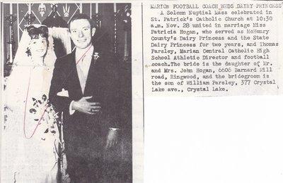 Wedding: Mr & Mrs Thomas Parsley