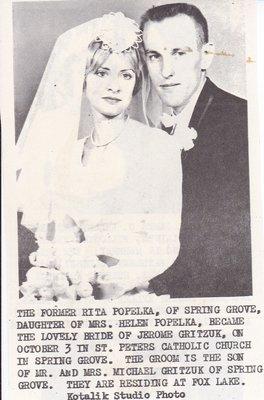Wedding: Mr & Mrs Jerome Gritzuk