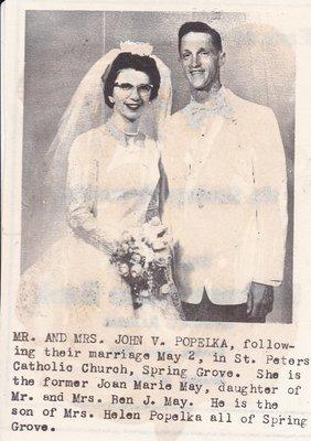 Wedding: Mr & Mrs John Popelka