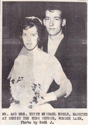 Wedding: Mr & Mrs Keith Noble