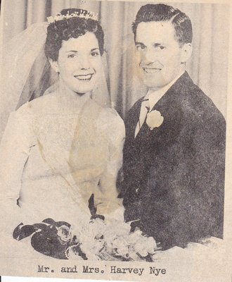 Wedding: Mr & Mrs Harvey Nye