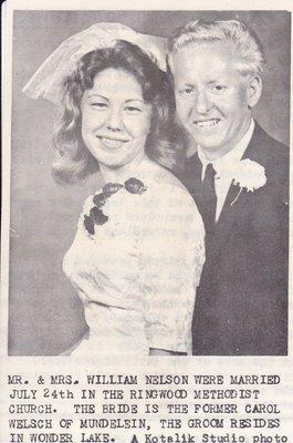 Wedding: Mr & Mrs William Nelson