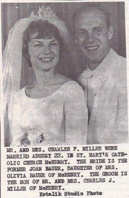 Wedding: Mr & Mrs Charles Miller