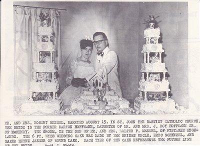 Wedding: Mr & Mrs Robert Messel