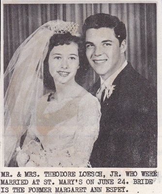 Wedding: Mr & Mrs Theodore Loesch