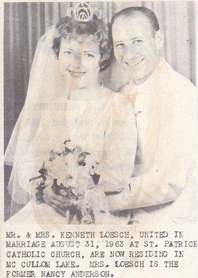 Wedding: Mr & Mrs Kenneth Loesch