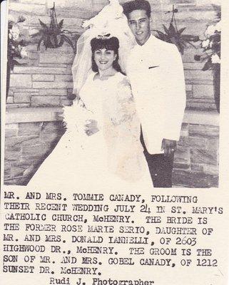 Wedding: Mr & Mrs Tommie Canady