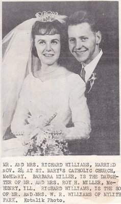 Wedding: Mr & Mrs Richard Williams