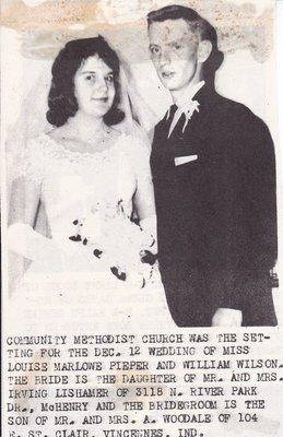 Wedding: Mr & Mrs William Wilson