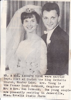Wedding: Mr & Mrs Kenneth Young