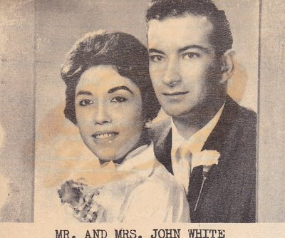Wedding: Mr & Mrs John White