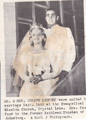 Wedding: Mr & Mrs Joseph Sanford