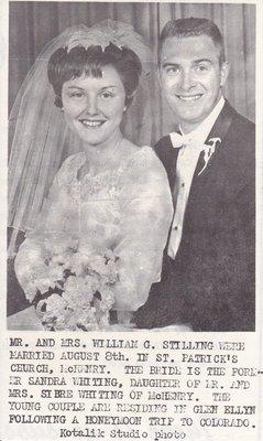 Wedding: Mr & Mrs William Stilling