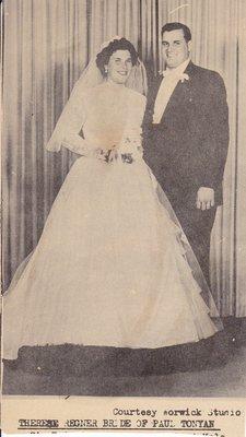 Wedding: Mr & Mrs Paul Tonyan